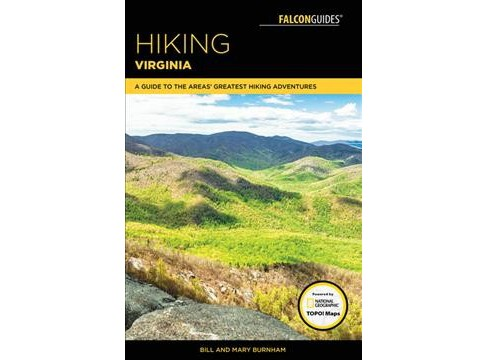 Hiking Virginia : A Guide to the Area's Greatest Hiking Adventures -  4 (Paperback) - image 1 of 1