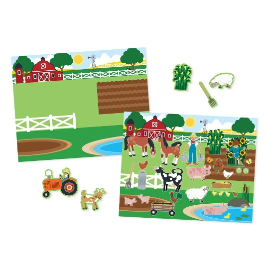Melissa & Doug Reusable Sticker Pads Set: Vehicles and Habitats, 315+ Stickers and 10 Scenes image number null