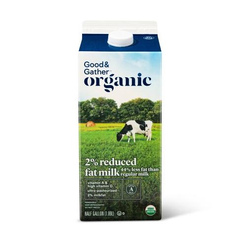 Organic 2% Milk - 0.5gal - Good & Gather™ - image 1 of 2