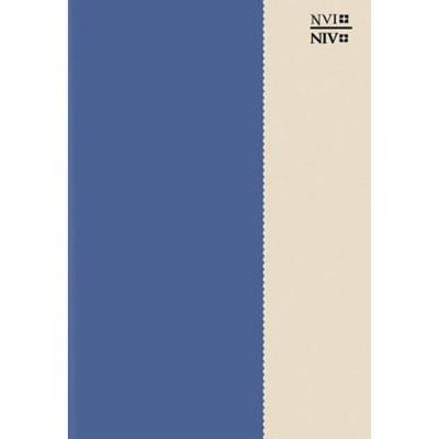 Bilingual Bible-PR-NVI/NIV - by  Zondervan (Leather Bound)