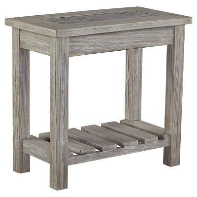 Veldar Chair Side End Table Whitewash - Signature Design by Ashley