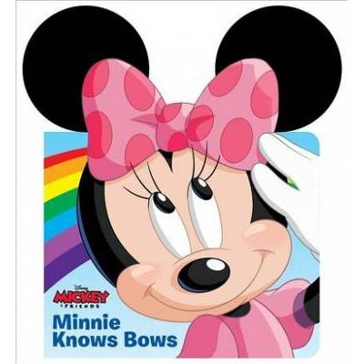 Minnie Knows Bows - BRDBK (Ears Books)(Hardcover)