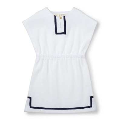 Hope and Henry Girls Terry Dress Swim Cover-up, Kids