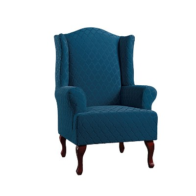 Stretch Marrakesh Wing Chair Slipcover   Sure Fit