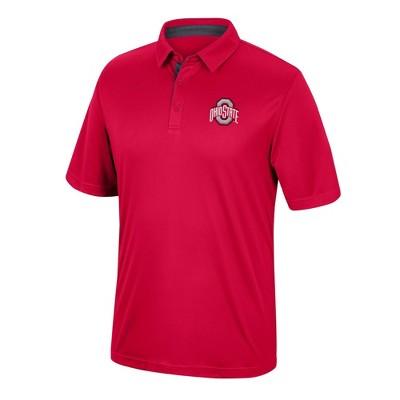 NCAA Ohio State Buckeyes Men's Short Sleeve Polo Shirt