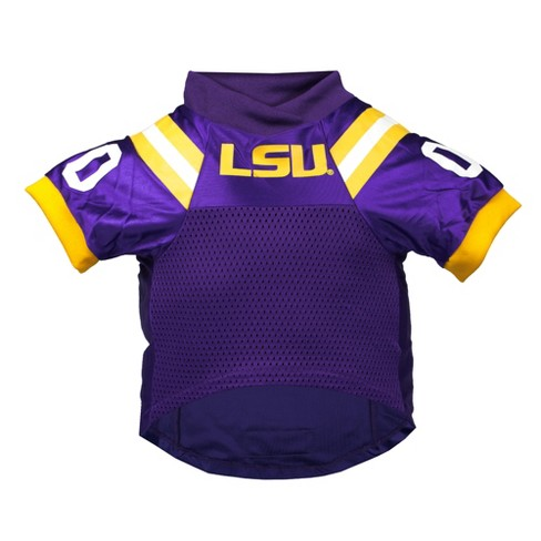 quality design 285ee bf07f LSU Tigers Little Earth Premium Pet Football Jersey - XS