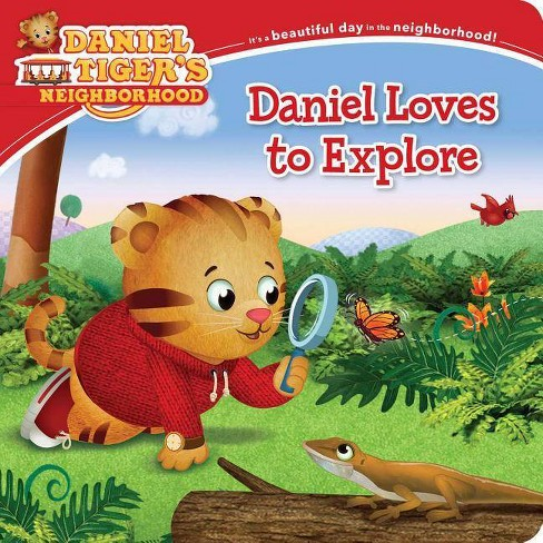 Daniel Loves to Explore - (Daniel Tiger's Neighborhood) (Board_book) - image 1 of 1