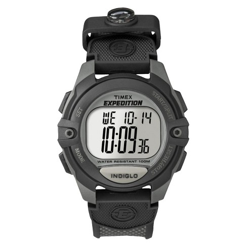 Men's Timex Expedition Digital Watch - Gray/Black T40941JT - image 1 of 3