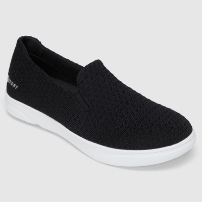 4d4d371ef2 Women s S SPORT BY SKECHERS Slip on Knit Athletic Shoes - Black