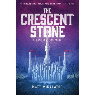 The Crescent Stone - (Sunlit Lands) by  Matt Mikalatos (Hardcover)