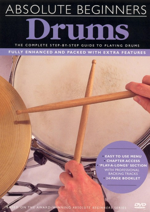 Absolute beginners drums (DVD) - image 1 of 1