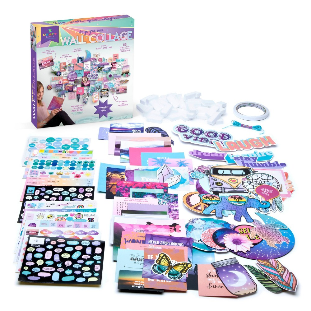 Design Your Own Wall Collage Craft Kit Craft Tastic