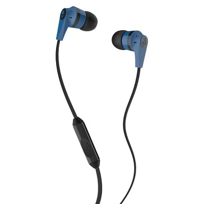 Skullcandy Ink'd Wired Earphones with Mic - Blue/Black