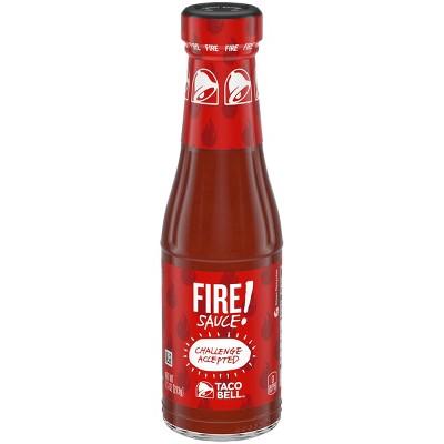 Taco Bell Fire Sauce 7.5oz