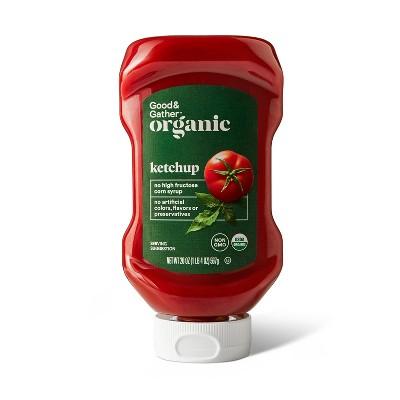 Organic Ketchup - 20oz - Good & Gather™