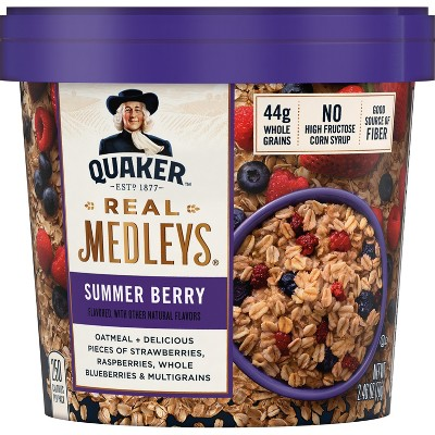 Oatmeal: Quaker Real Medleys