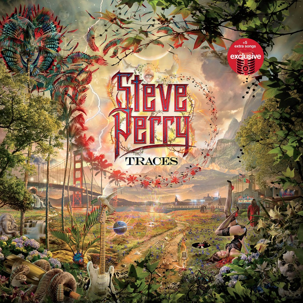 Steve Perry Traces Target Exclusive Vinyl