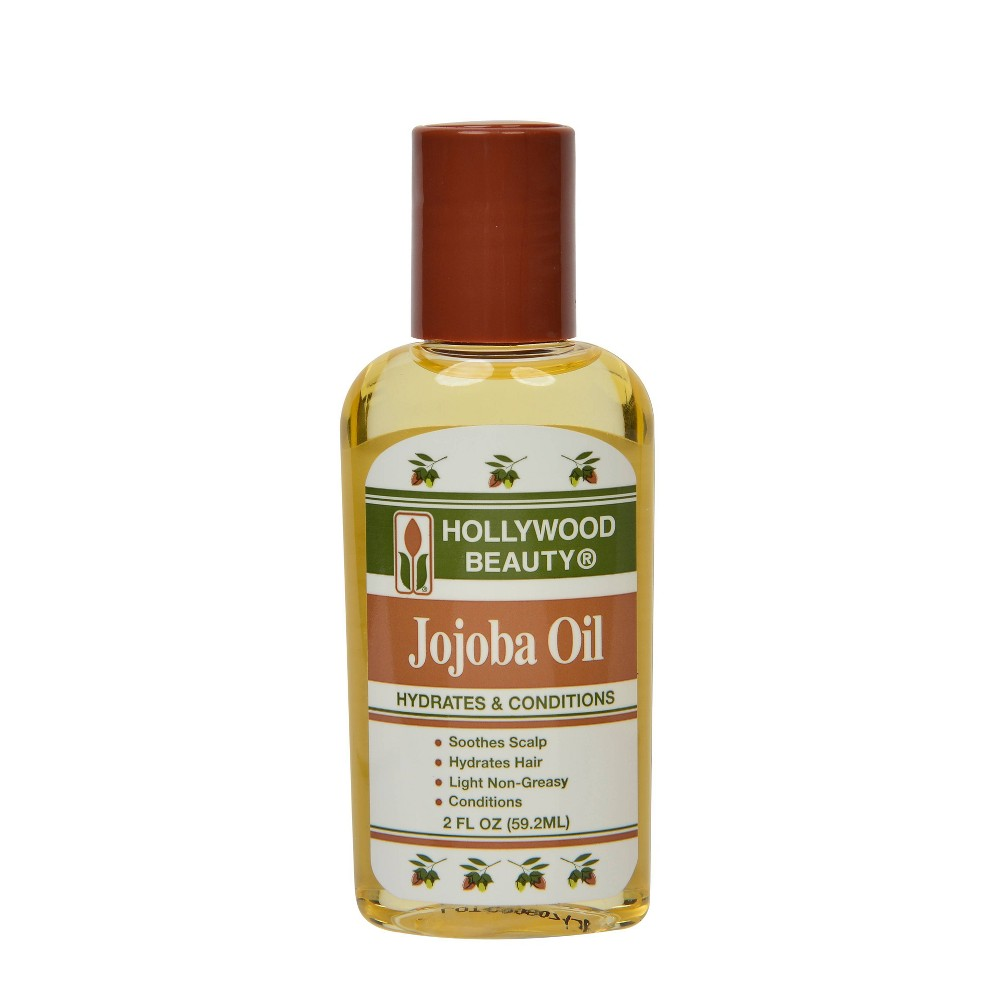 Image of Hollywood Beauty Jojoba Hair Oil - 2 fl oz