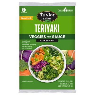 Taylor Farms Teriyaki Stir Fry Kit - 12.5oz