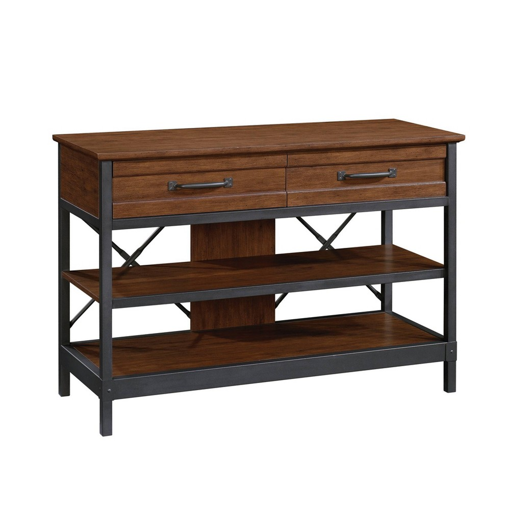 Carson Forge Anywhere Console Milled Cherry - Sauder