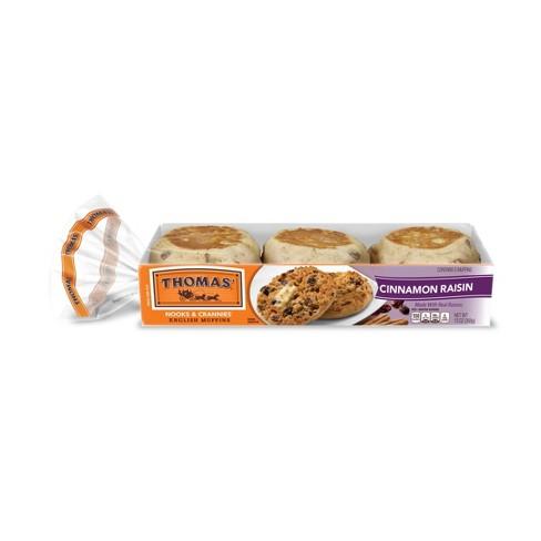 Thomas' Cinnamon Raisin English Muffins - 13oz/6ct - image 1 of 4