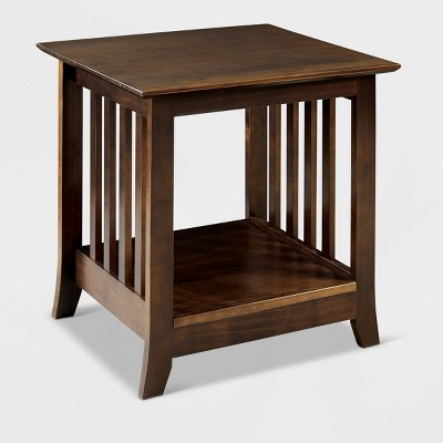 Emerson End Table Brown - Linon