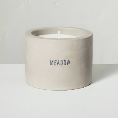 5oz Meadow Mini Cement Candle - Hearth & Hand™ with Magnolia