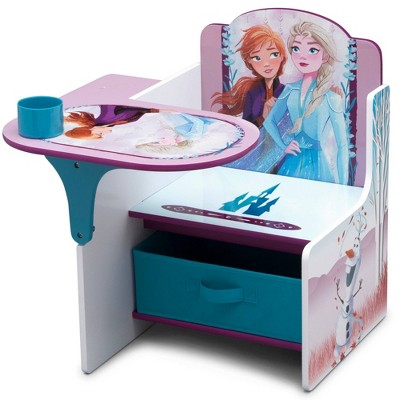 Disney Frozen 2 Chair Desk with Storage Bin - Delta Children