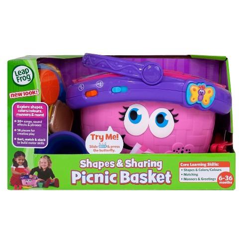 Leapfrog Shapes Sharing Picnic Basket Target