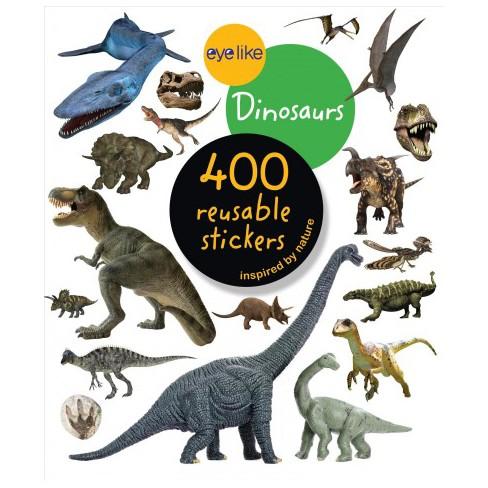 Eyelike Stickers: Dinosaurs - by  Workman Publishing (Paperback) - image 1 of 1