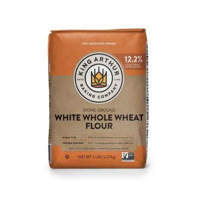 King Arthur Flour Unbleached White Whole Wheat Flour - 5lbs