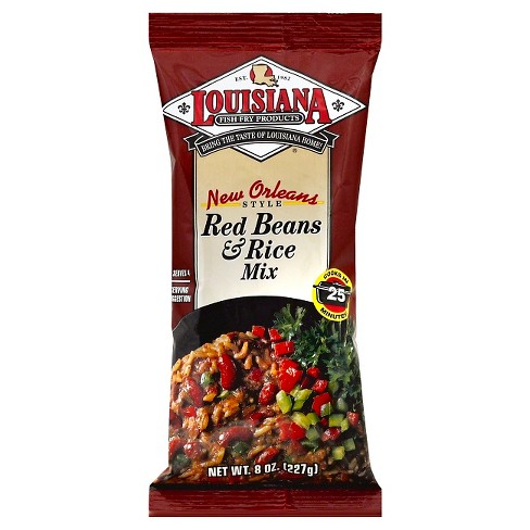 Louisiana® New Orleans Style Red Beans & Rice Mix - 8oz - image 1 of 1