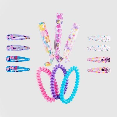 Girls' Minnie Mouse 14pk Hair Clip Set