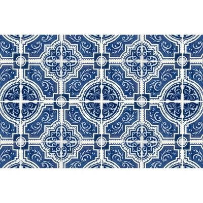 FlorArt French Quarter Low Profile Easy Clean Kitchen Mat - Bungalow Flooring