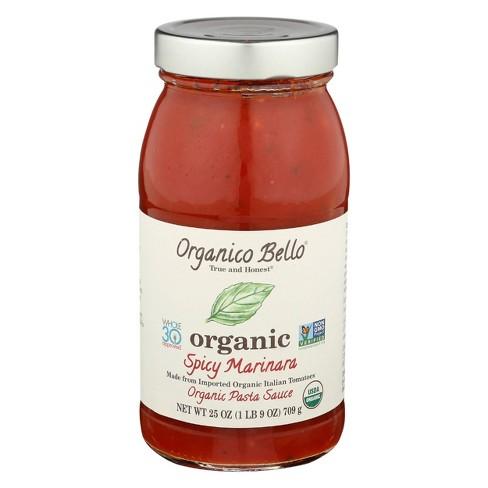 Organico Bello Spicy Marinara Pasta Sauce 25 oz - image 1 of 2