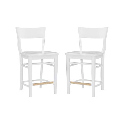 Set of 2 Chandler Counter Height Barstools - Linon