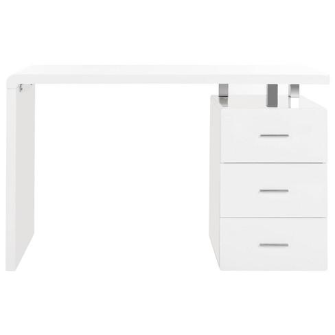 Orrin 3 Drawer Desk White - Safavieh - image 1 of 4