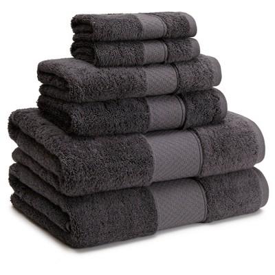 Bath Towels Sets Kassatex Stone Grey