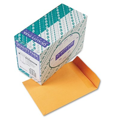 Quality Park Redi Seal Catalog Envelope 9 x 12 Brown Kraft 250/Box 43562