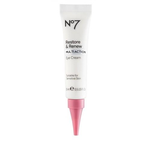No7 Restore & Renew Multi Action Eye Cream - .5oz - image 1 of 4