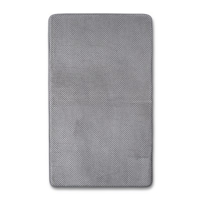 20  x 34  Bubble Memory Foam Bath Rug Classic Gray - Threshold™