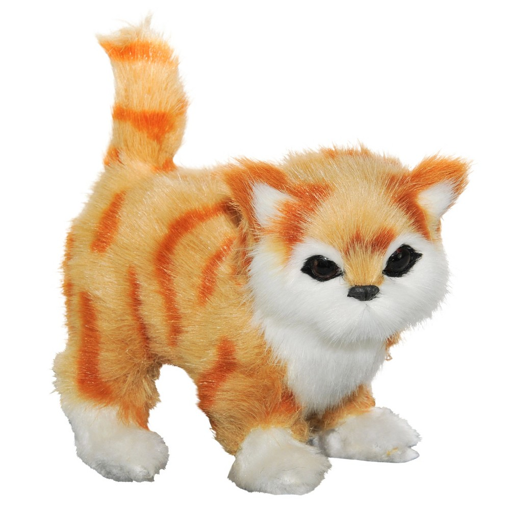 The Queen's Treasures 18 Inch Doll Pet Accessory, Truly Adorable Realistic Gold Eyed Tabby Kitty Cat
