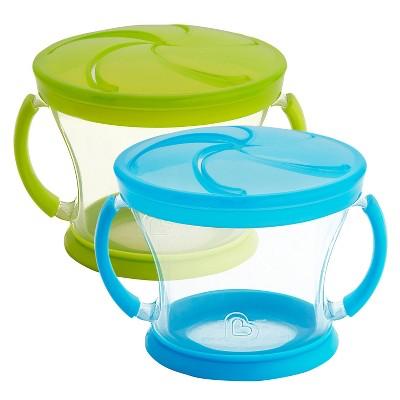 Munchkin Snack Catcher - 2pk - Blue/Green