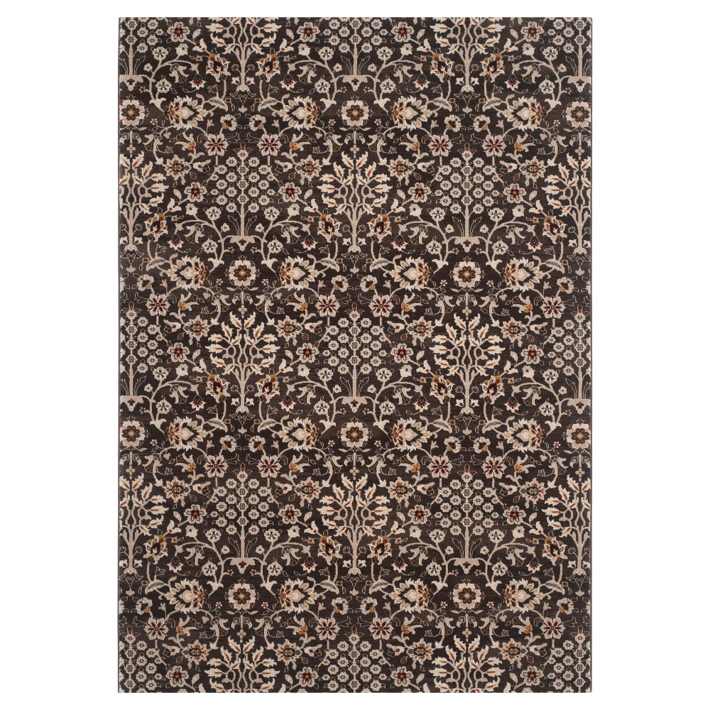 Pasquale Area Rug - Brown/Crème (4' X 6') - Safavieh, Brown/Ivory