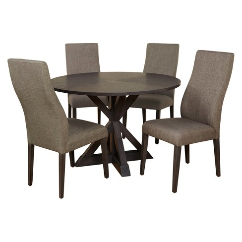 5pc Glen Dining Set - Gray - Buylateral - image 1 of 2