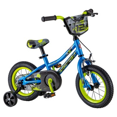 "Schwinn Valve 12"" Kids' Bike - Blue"