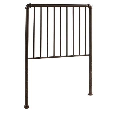 Twin Brandi Metal Headboard Bronze - Hillsdale Furniture