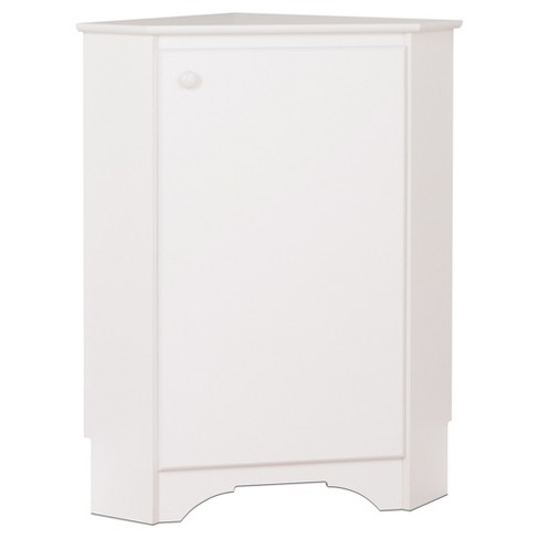 Elite Corner Storage Cabinet White Prepac Target