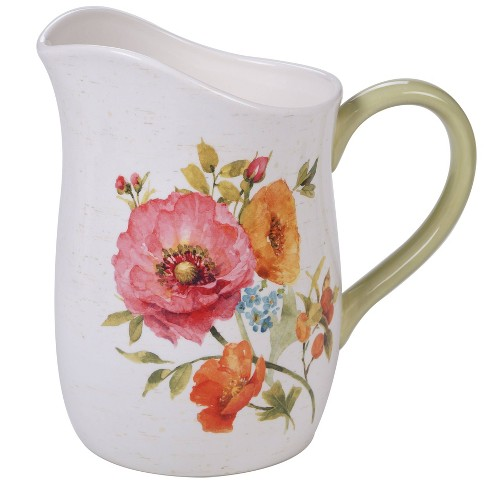 96oz Earthenware Country Fresh Beverage Pitcher - Certified International - image 1 of 1