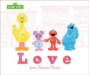 Love from Sesame Street - (Sesame Street Scribbles)(Hardcover)